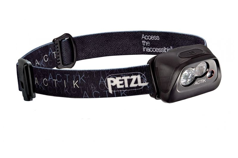 Фонарь налобный PETZL ACTIK чёрный
