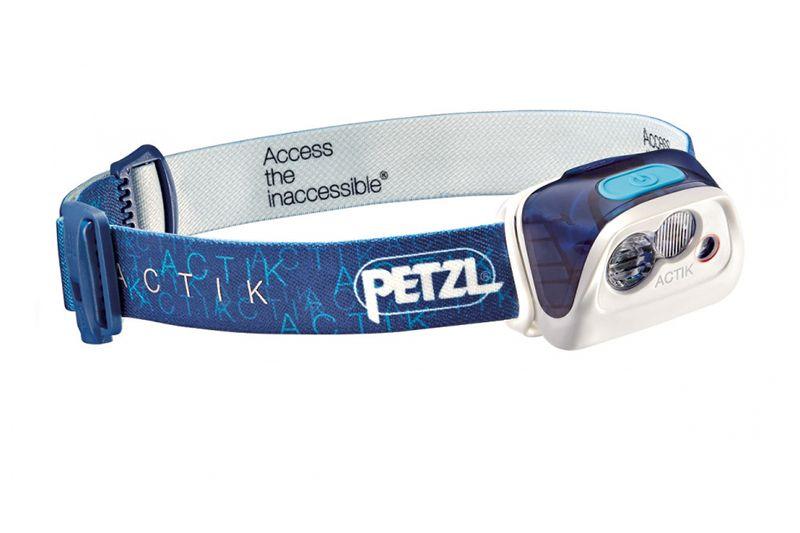 Фонарь налобный PETZL ACTIK синий