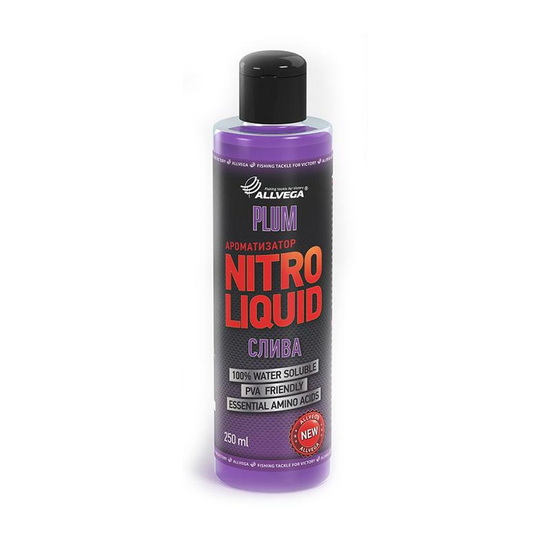 Ароматизатор жидкий ALLVEGA Nitro Liquid Plum 250мл (СЛИВА)