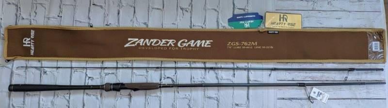 Спиннинг HR Zander Game ZGS-762M 2.30 м 10-44 гр. New 2019