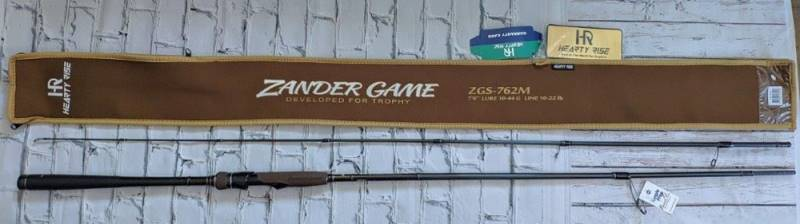 Спиннинг HR Zander Game ZGS-832H 2.52 м 15-70 гр. New 2019