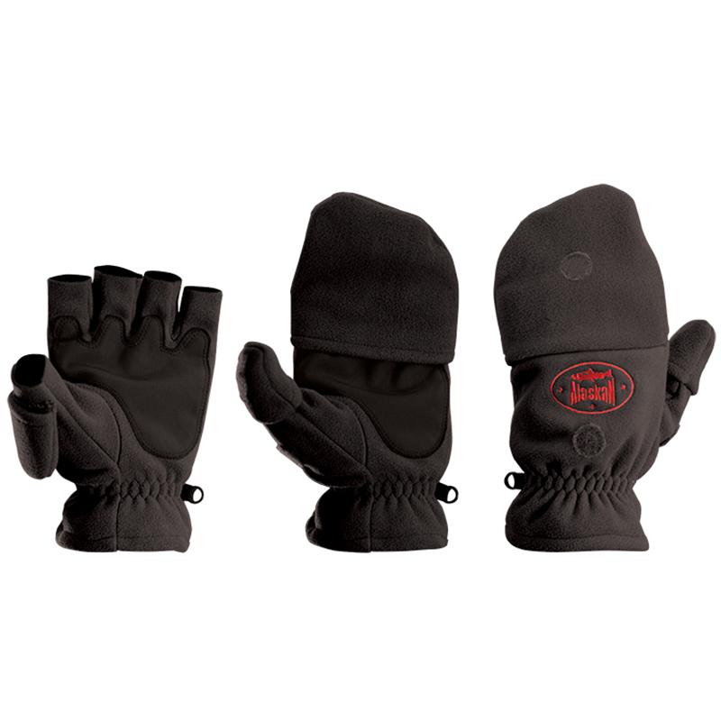 Перчатки-варежки Alaskan Colville XL черн. (24-25см)