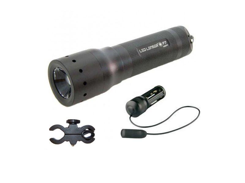 1200 Фонарь Led Lenser P7N Свет 200(320)лм. Вр. раб. 64(50)ч. 4xAAA