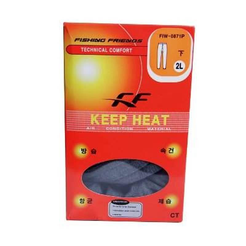 Термобелье Keep Heat XXL комплект. Серый. Прохладно/холодно (р.56-58, 180-190 см.) 0FIW-0871 - 4L