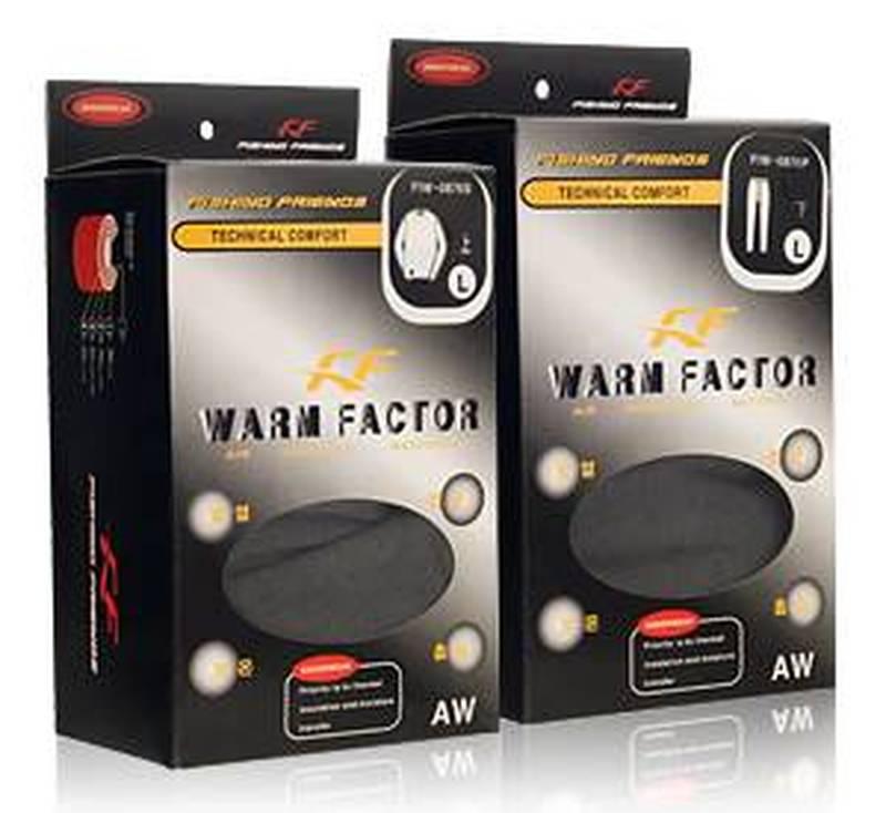 Термобелье Warm Factor XXL комплект. Тёмно-серый. Холодно/Очень холодно (р.56-58, 180-185 см.) FIW-0876 4L