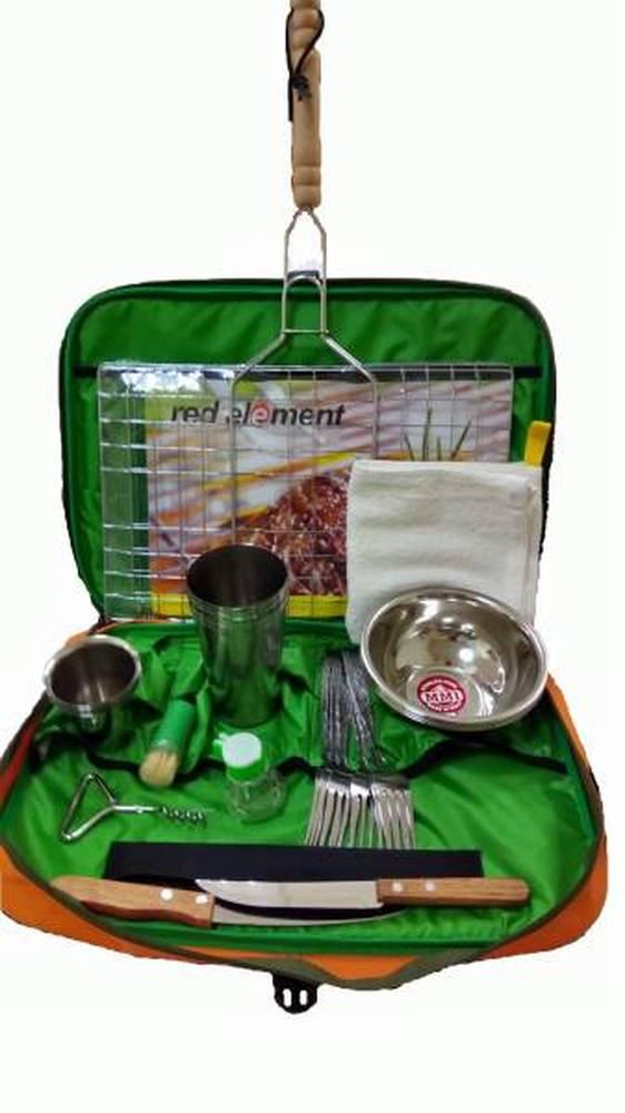 Набор посуды для пикника Inturistic Барбекю на 6 персон (34 предмета)