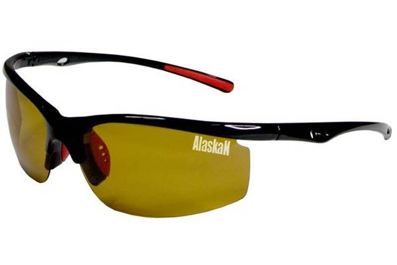 Поляриз. очки Alaskan AG10-01 Delta yellow (жестк.чехол)