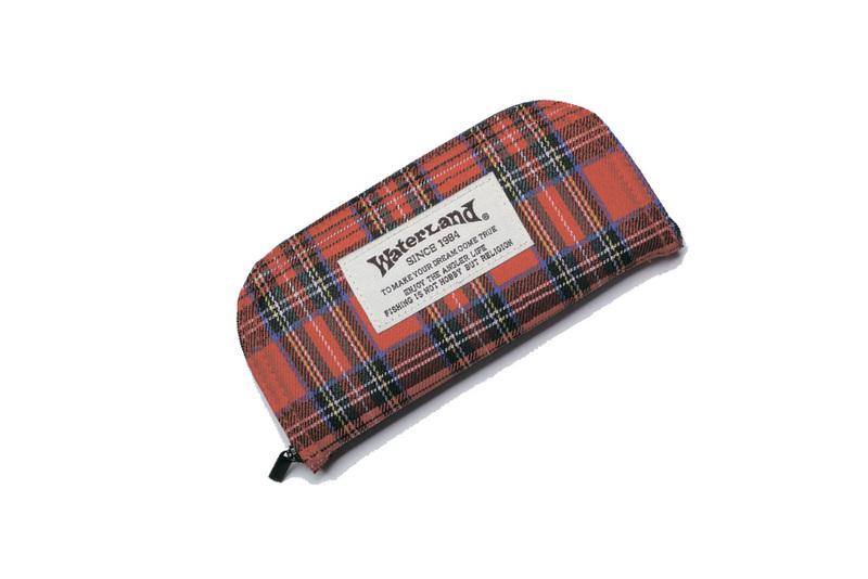 Кошелек-органайзер для блесен Waterland Spoon Wallet Cloth Mega #3 Красный