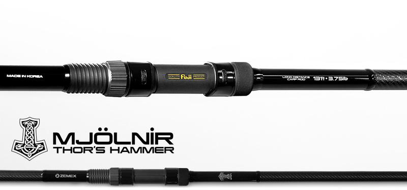 Удилище карповое ZEMEX MJOLNIR Thors Hammer 13 ft 3.96м - 3.75 lb