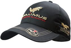 Бейсболка Maximus Raptor MRSCBOS Чёрная