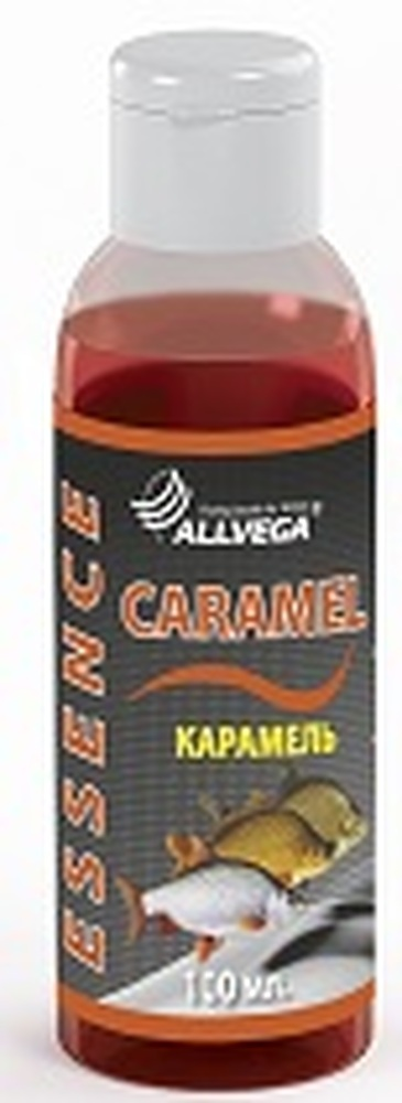 Ароматизатор-концентрат жидкий ALLVEGA Essence Caramel 100мл (КАРАМЕЛЬ) NEW