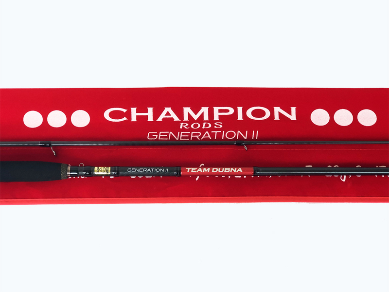 Champion rods Team Dubna GENERATION 2 TD-732L 2.20 м. 3-14 гр.