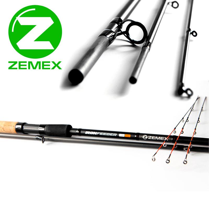 Удилище фидерное ZEMEX IRON Medium Feeder 12 ft 3.60 м - 90 g